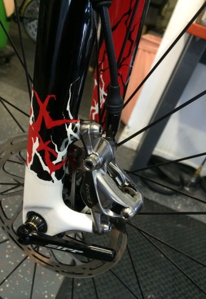 Specialized limited edition Metal Head Tarmac Dropouts