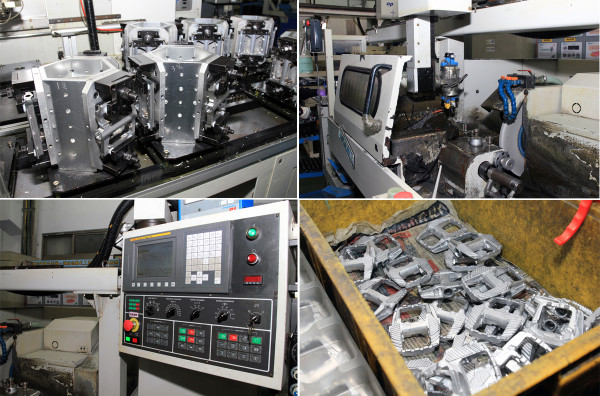 VP Components Modus Taiwan Factory Pedal Production 14