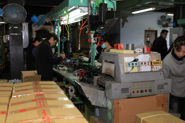 VP Components Modus Taiwan Factory Pedal Production Tour433