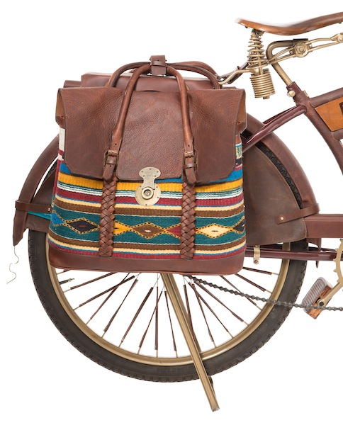 WILL Leather Goods One Of A Kind Bike Series Oaxacan Bike #2 Panniers View master