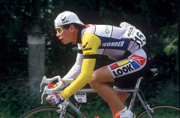 09/03/1986  Andy Hampsten in action Photo: Offside / L'Equipe