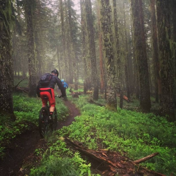 bikerumor pic of the day oregon mtb sendoff