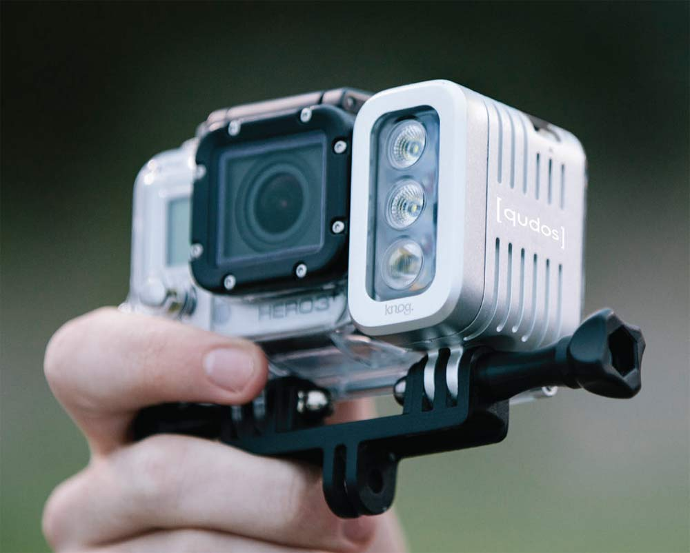 knog-qudos-gopro-action-sports-camera-light & Knog Qudos Action Sports Camera Light Makes Your GoPro a Night Owl ... azcodes.com