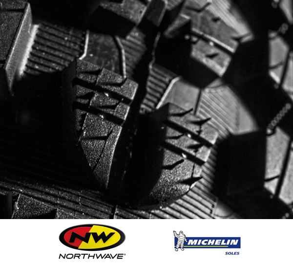 northwave michelin bicycle shoe tire collaboration