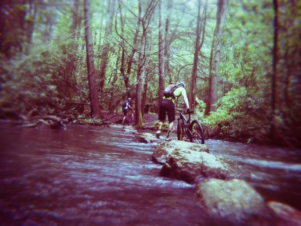 bikerumor pic of the day dupont state forest reasonover crossing