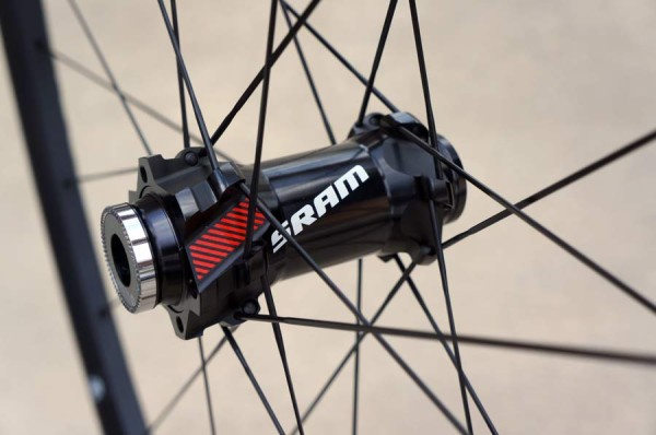 SRAM Roam 50 alloy mountain bike wheels with Predictive Steering front hub review and actual weights