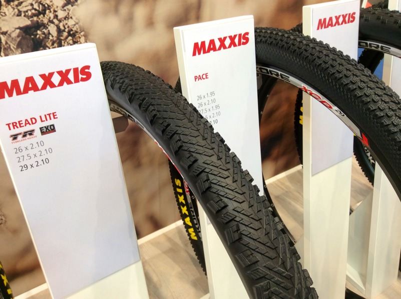 maxxis pace and tread lite mountain bike tiress