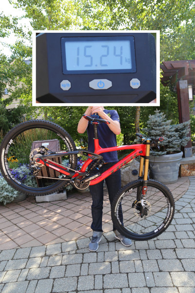 2015 Trek Session DH 9.9 27.5 Weight