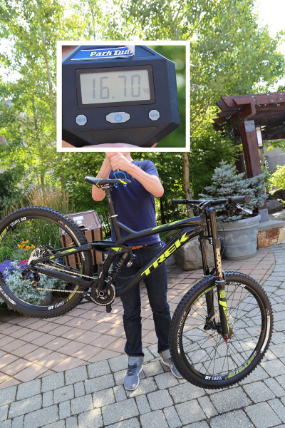 2015 Trek Session 88 DH Weight