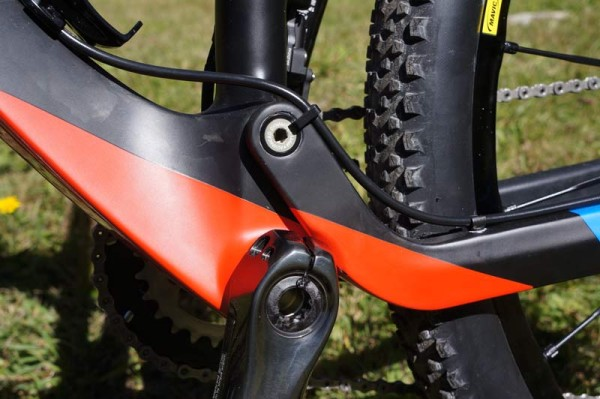 2015 Orbea Oiz full suspension XC race mountain bike