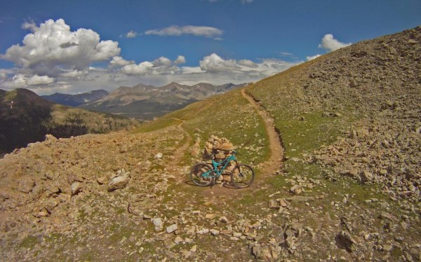 bikerumor pic of the day mountain bike riding the colorado trail
