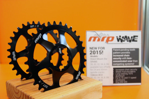 MRP New Wave Chainring narrow wide non drop carbon chain guide slope fork (6)
