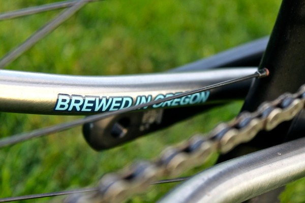 Sage Cycles 2014 PDXCX Chain Stay Logo 1