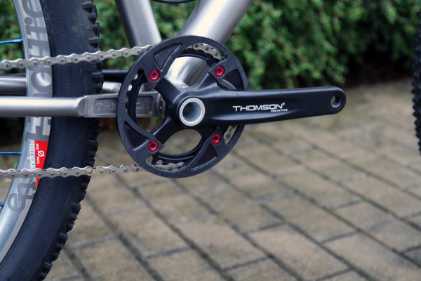 Thomson single speed drive train cog spacer crank crate engine ti frame setback seatpost  (15)