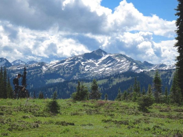 bikerumor pic of the day Keystone Standard Basin,  Revelstoke.  Squamish, B.C.