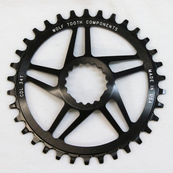 WTC Cannondale hollowgram single speed chainring 34 direct mount