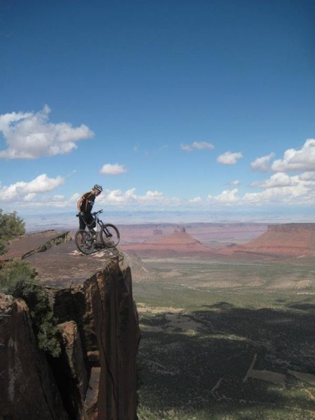 bikerumor pic of the day moab whole enchilada trail