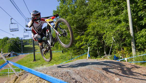 wind ham world cup mountain bike race and new lift trials