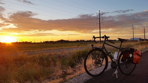 bikerumor pic of the day Here is a pic from my commute home from work. This is on the Legacy Parkway Trail outside of Farmington, UT