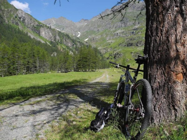 "bikerumor pic of the day ""summer in Val Soana, Gran Paradiso national park, Italy"