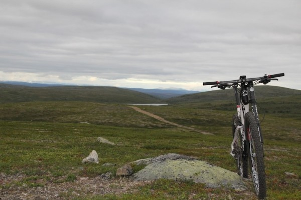 bikerumor pic of the day cycling finland lapland