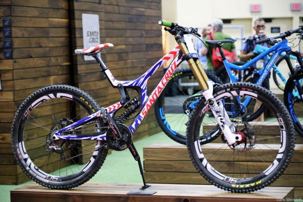 Josh Bryceland Santa Cruz V10 2014 World Championship Bike_012