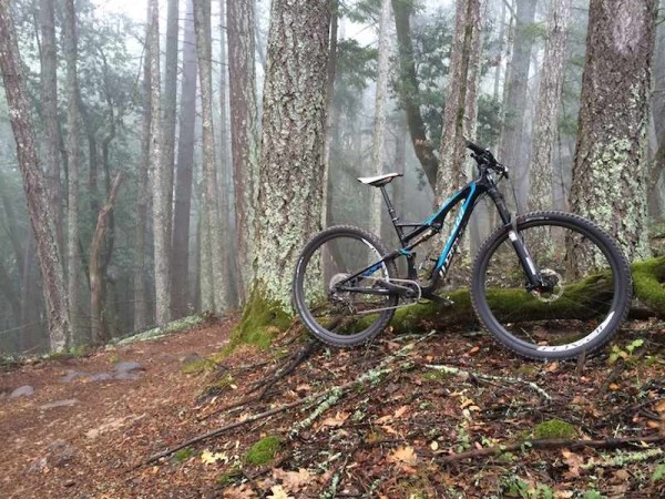 bikerumor pic of the day MY am ride in Annadel, Santa Rosa. mountain bike niner