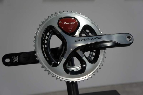 pioneer cycling power meter now available for installation on your own crankset