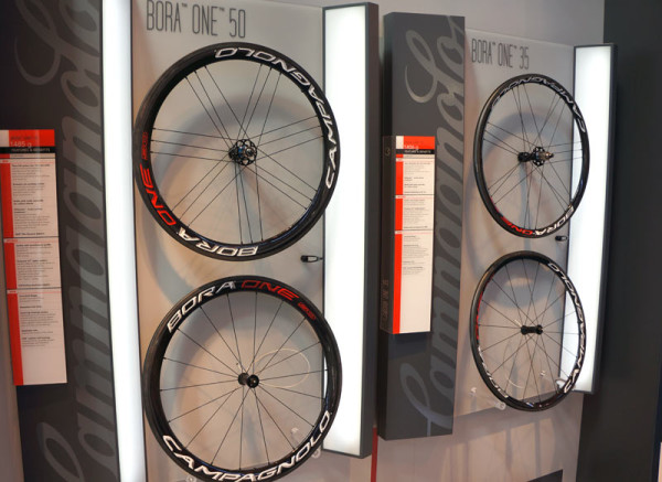 2015 Campagnolo Bora Ultra and Bora One carbon clincher road bike wheels specs and weights