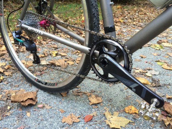 2015 SRAM CX1 1x11 cyclocross component group with hydraulic disc brakes install notes and actual weights