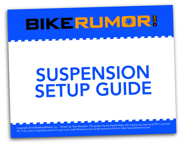 free PDF download of the Bikerumor Suspension Setup Series articles