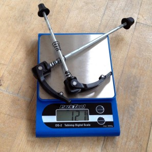 Campagnolo_Campy_Shamal_Ultra_Tubular_steel_quick_release_skewers_ACTUAL_weight