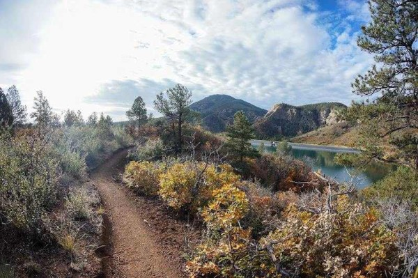bikerumor pic of the day Chamberlain trail in Colorado Springs