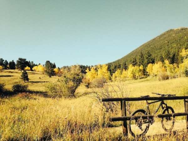 bikerumor pic of the day Golden Gate Canyon State Park near Golden, CO
