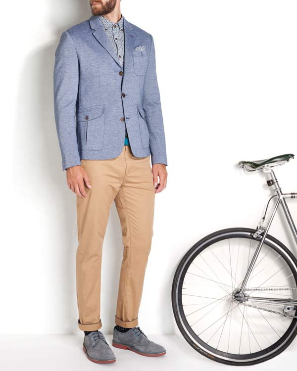ted baker raising the handlebar bicycle commuter fashion collection 2014