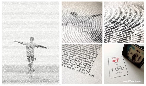 100copies_No25_Cyclism_art_print_details