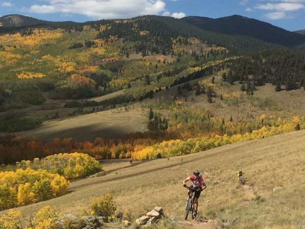 bikerumor pic of the day Kenosha Pass, CO. A gorgeous ride on one of the most scenic segments of the expansive Colorado Trail.