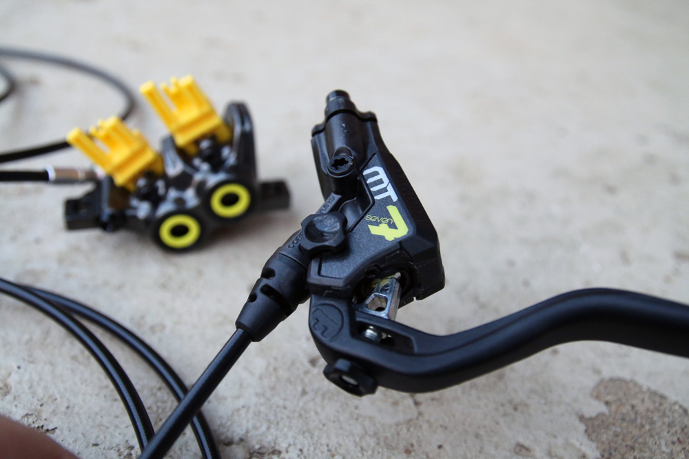 Hands On Magura Mt7 Quad Piston Hydraulic Brakes Bikerumor