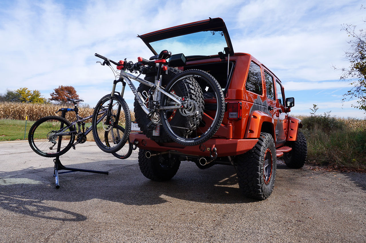 project trail seeker transforms a jeep wrangler into the ideal