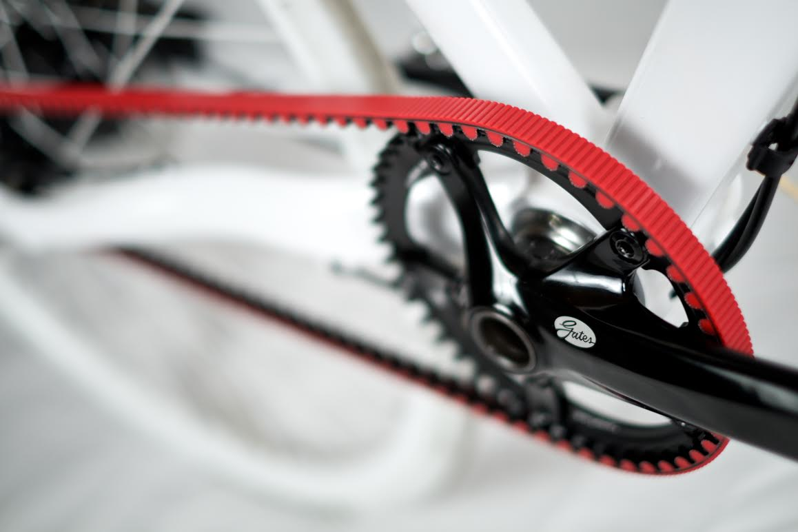 Gates Sees Red With Colorful New Carbon Belts Plus All