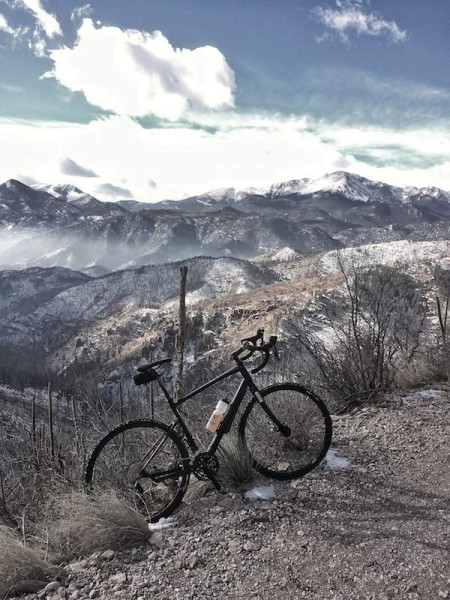 bikerumor pic of the day rampart range road colorado springs