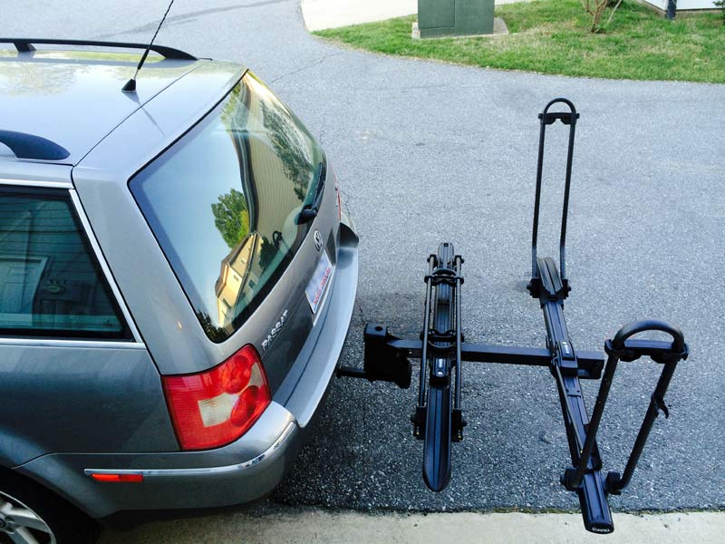 ... Inno Racks Tire Hold Hitch Mount Bicycle Rack Review
