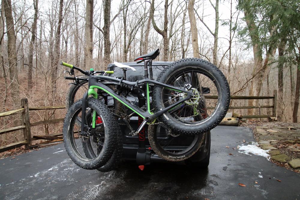 Review Yakima Fullswing 4 Bike Hitch Mast Rack Bikerumor