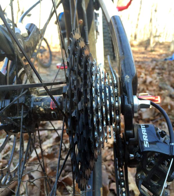 AbsoluteBlack 28-40 tooth cassette adapter cluster first impressions and actual weights