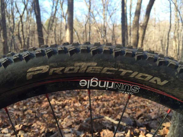 Continental Mountain King 2 tubeless ready protection mountain bike tires review and actual weights