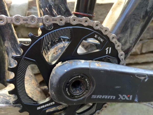 SRAM XX1 X-sync direct mount chainrings actual weights and first ride review