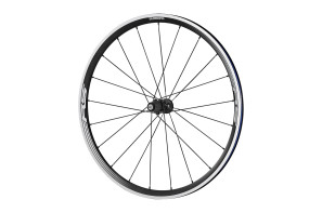 Shimano_30mm_aluminum_clincher_wheelset_rear_wheel_black_WH-RS330-CL