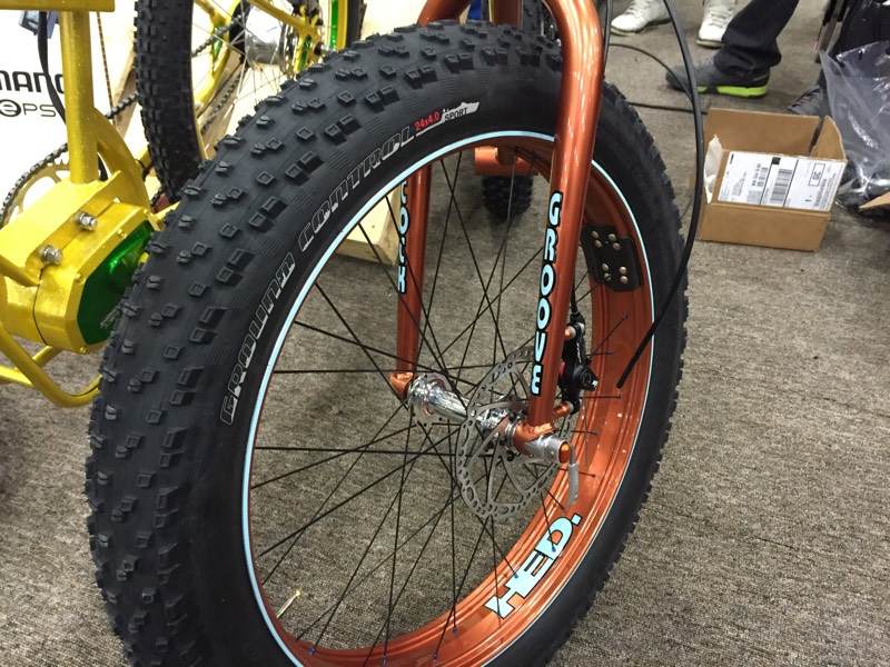 Nahbs 2015 New Hed 24 Quot Fat Bike Rims Have All The Width