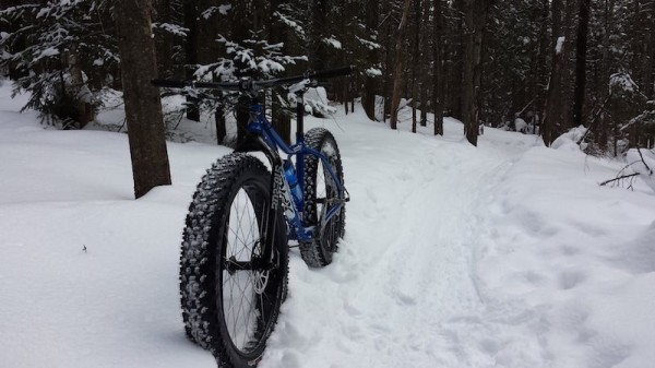 "bikerumor pic of the day This is a Xprezo bike ""Gros Big"" Hand maid here in Québec.  Enjoy riding in St Sauveur Québec."