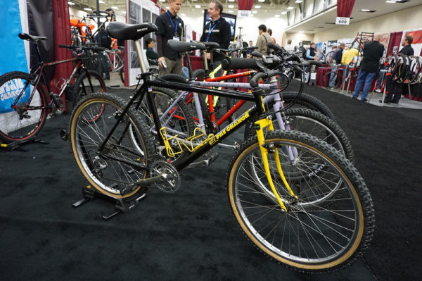 1986 Fat Chance Wicked steel hardtail mountain bike by Chris Chance